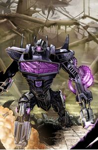 Picture of FALL OF CYBERTRON 02 - COVER ART PRINT