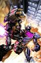 Picture of FALL OF CYBERTRON 04 - COVER ART PRINT