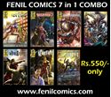 Picture of 7 in 1 combo Fenil comics - Masterplan