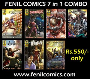 Picture of 7 in 1 combo Fenil comics - Masterplan