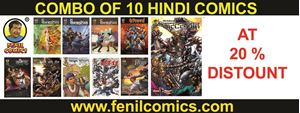 Picture of ALL 10 in 1 HINDI FENIL COMICS COMBO
