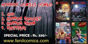 Picture of HORROR COMICS COMBO OF 4 COMICS