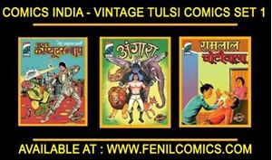 Picture of COMICS INDIA VINTAGE TULSI COMICS SET 1