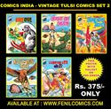 Picture of COMICS INDIA VINTAGE TULSI COMICS SET 2