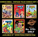 Picture of COMICS INDIA VINTAGE TULSI COMICS SET 3