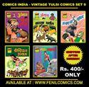 Picture of COMICS INDIA VINTAGE TULSI COMICS SET 9 (PRE-ORDER)