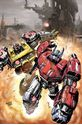 Picture of FALL OF CYBERTRON 01 - COVER ART PRINT