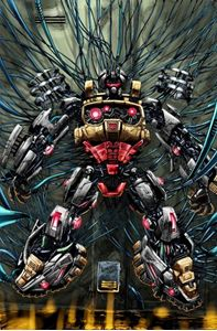 Picture of FALL OF CYBERTRON 05 - COVER ART PRINT