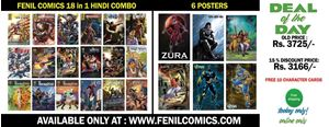 Picture of All 18 in 1 Hindi Fenil Comics + 6 Posters Combo